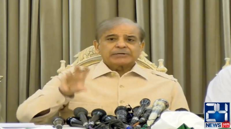 PTI govt has nothing to do with people, governance: Shehbaz