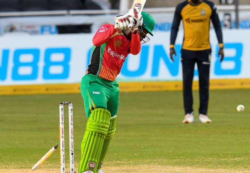 Chemar holds his nerve as Chase is too much for Guyana