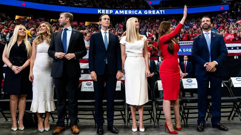 All the president's kids: Trump clan rules Republican convention