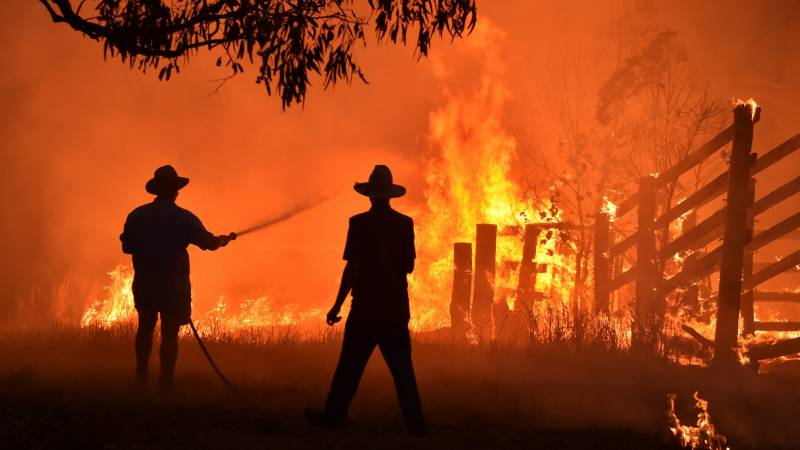 Climate change 'clearly' fuelled Australia bushfires: inquest