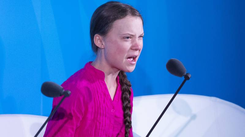 Greta Thunberg back in class after year off for climate