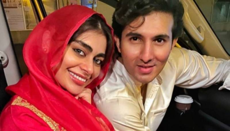 Sadaf Kanwal shares heartfelt birthday wishes for Shahroz Sabzwari