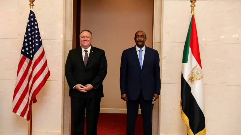 Pompeo visits Sudan on tour to boost Israel's Arab ties
