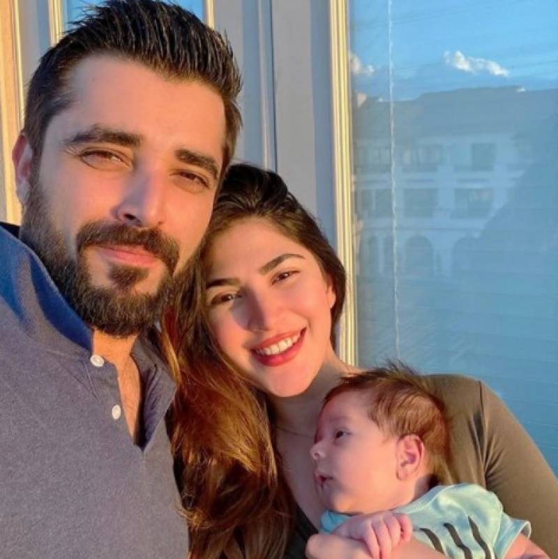 Hamza, Naimal's picture with newborn baby goes viral