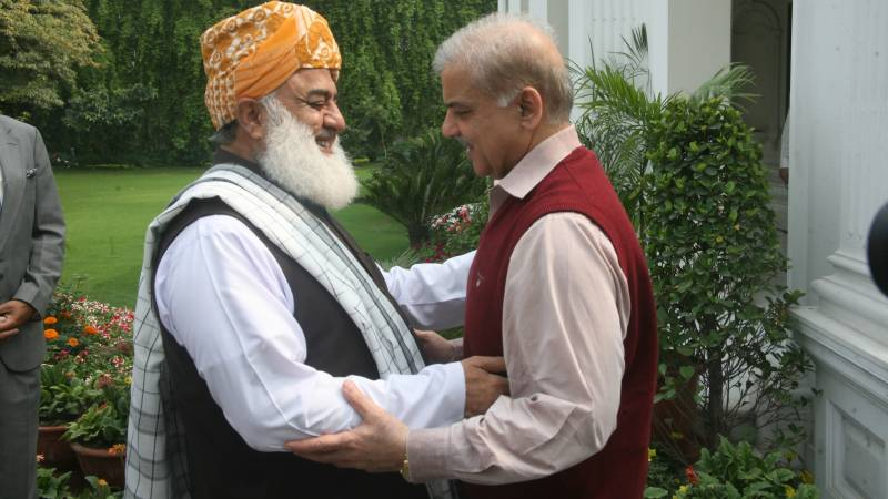 Smaller Opp parties are angry at you, Fazl tells Shehbaz