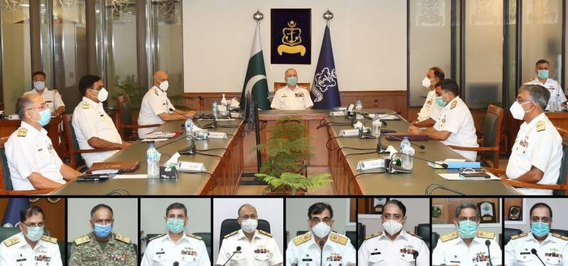 Naval Chief presides over Command & Staff Conference at Naval Headquarters