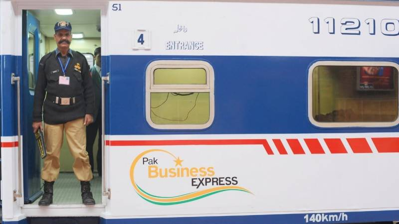 Pak Business Express engine fails on way from Lahore to Karachi