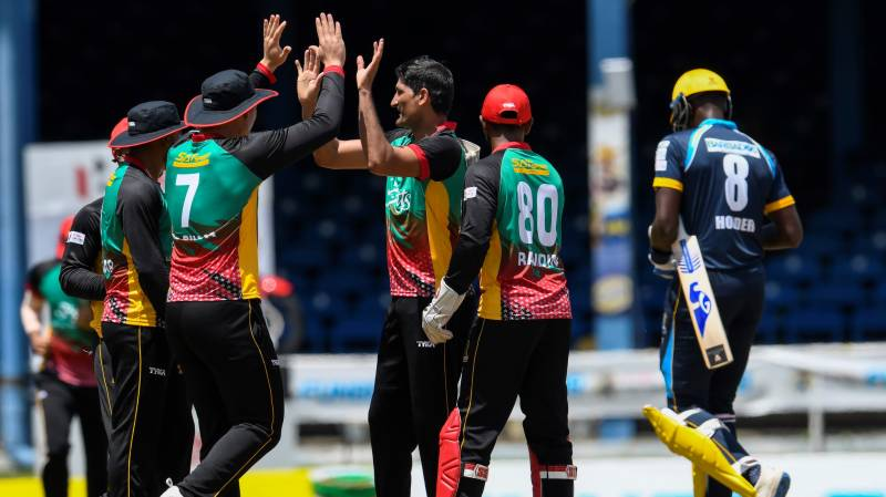 Dunk last over sixes take St Kitts to first win in CPL 2020