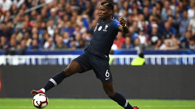 Pogba left out of France squad after positive Covid-19 test