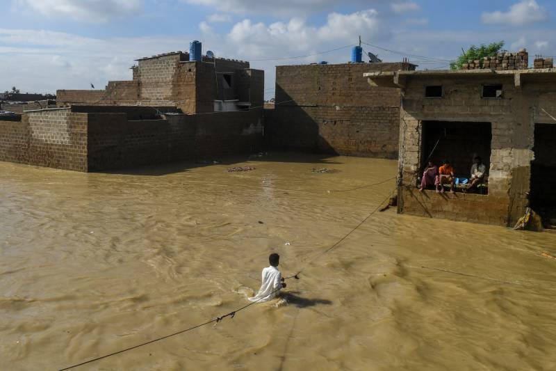 Submerged Karachi to be hit by another rain spell from Saturday
