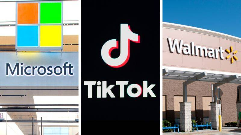 Walmart says teaming with Microsoft in bid for TikTok