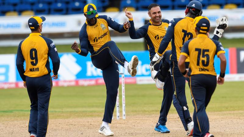 Nabi and Cornwall overpower Patriots in CPL