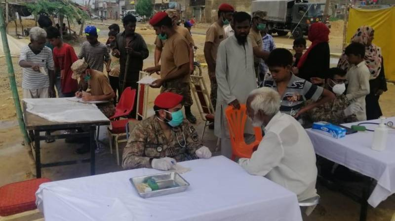 Army, Navy continue relief and rescue efforts in flood-hit Karachi