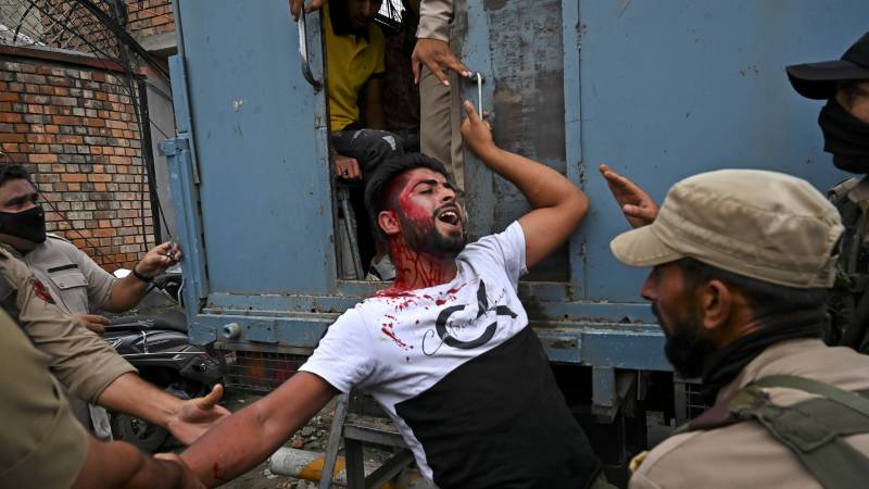 Indian forces open fire on Shias procession in Occupied Kashmir