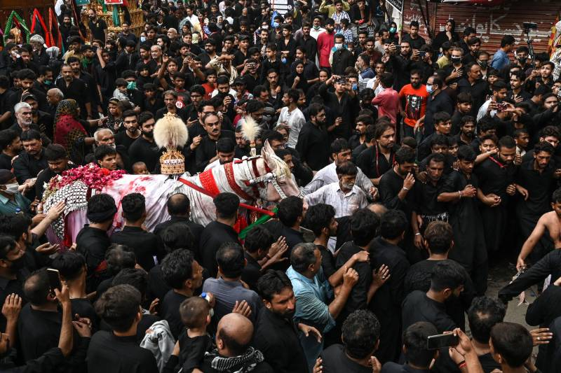 Ashura processions culminate peacefully across country