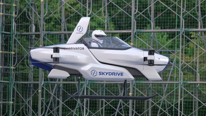 Japan company successfully tests manned flying car for the first time