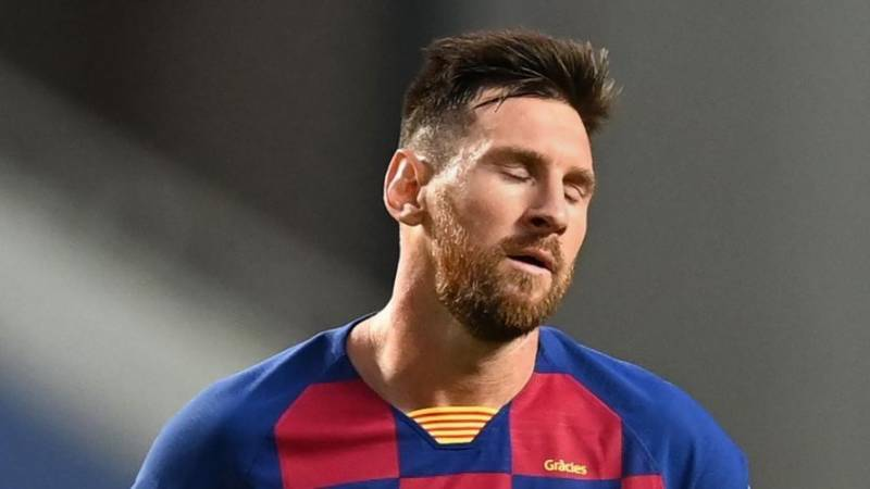 Messi misses first pre-season training session as Barcelona stand-off continues