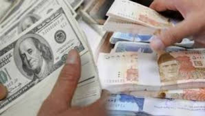 Dollar falls to Rs165.90 against rupee