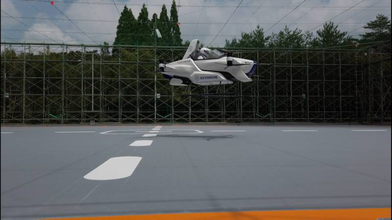 When cars fly: Japan firm says day is nearing