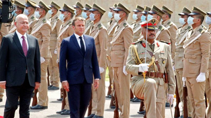 Macron backs Iraq 'sovereignty' on first Baghdad visit