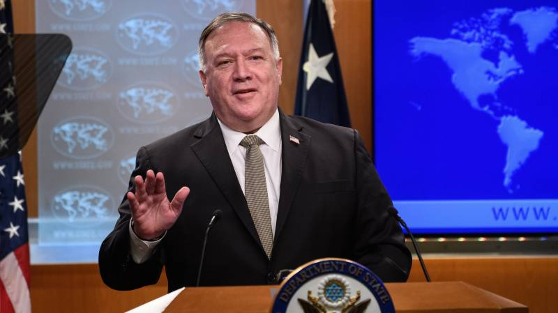 Pompeo calls for reduction in tensions in eastern Mediterranean