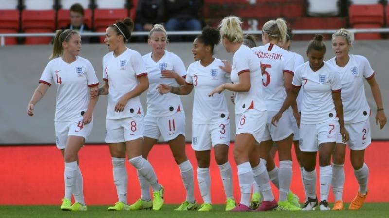 Equal pay already in place for England's national teams