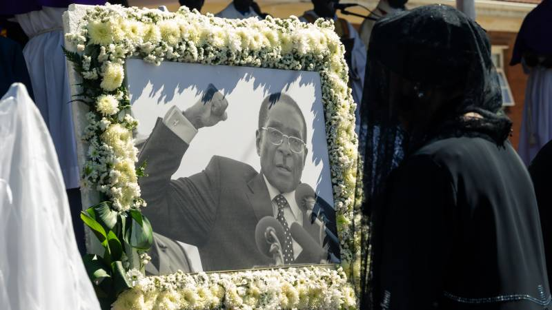 Bitter anniversary in Zimbabwe a year after Mugabe died