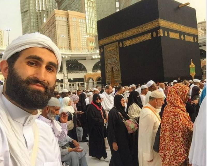 Ertugrul star Celal desires to visit Holy Kaaba, shares throwback picture
