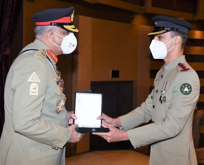 Army chief confers gallantry awards on heroes, families