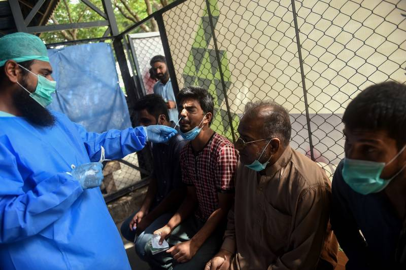 Pakistan records only two corona deaths, 484 infections, active tally 6,269