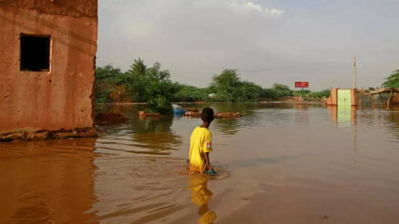 Ancient gem at risk as Sudanese rivers rage