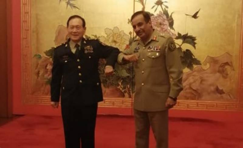 CJCSC holds talks with Chinese defence minister in Moscow