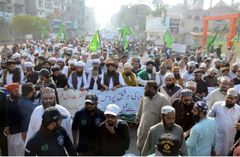 Sunni Tehreek takes out Defence Day rally in Kalat
