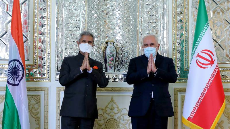 Iran hosts second Indian minister in a week
