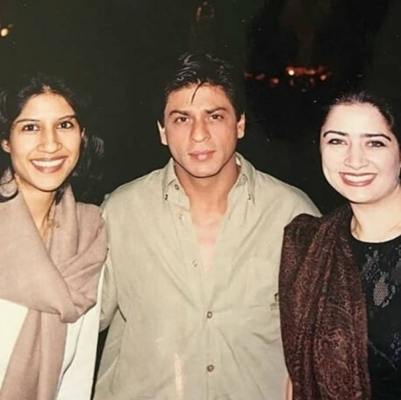 Atiqa Odho shares throwback picture with Shahrukh Khan from the set of Devdas