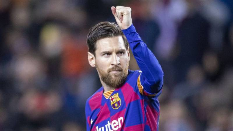 Messi back in full training with Barca
