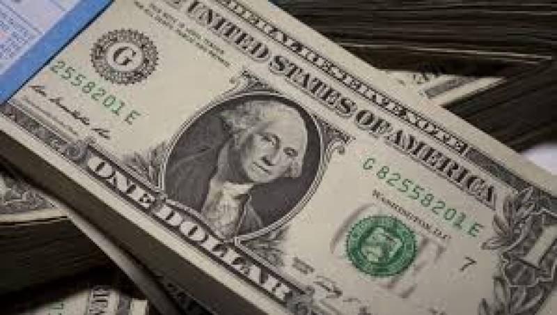 US dollars gains 10 paisas against Pakistani rupee