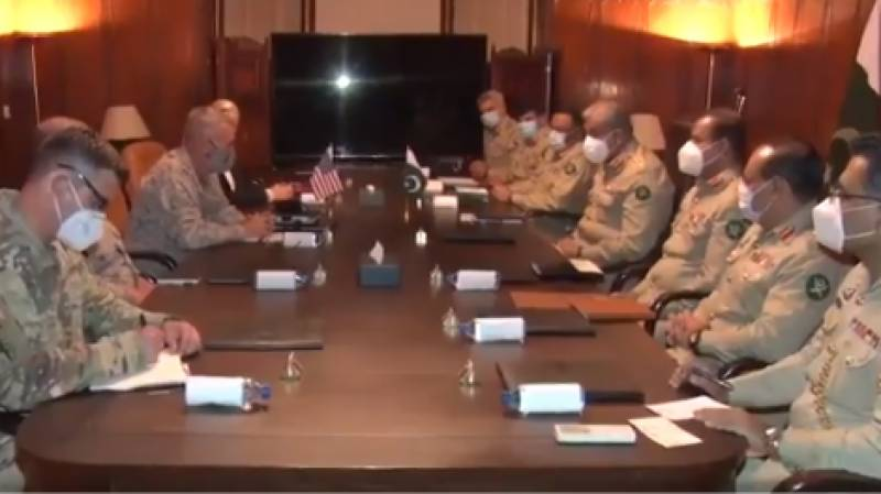 COAS Bajwa, US Centcom chief discuss Kashmir, other issues