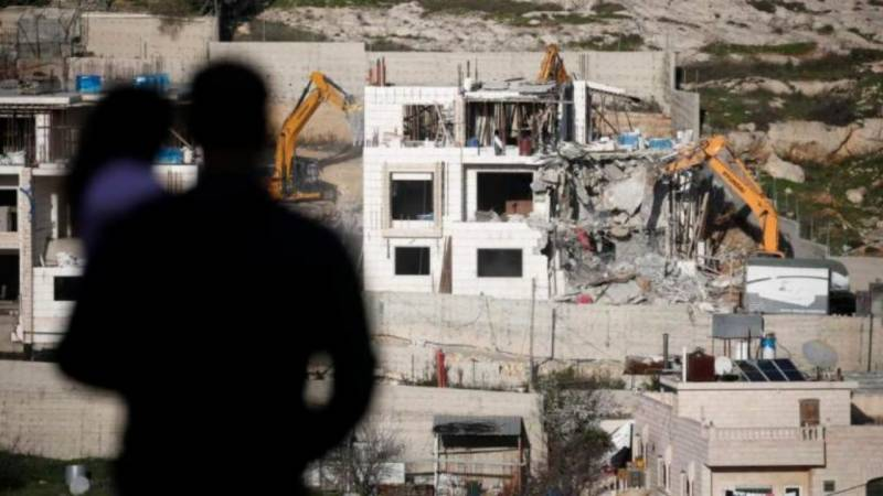 Israel razing more Palestinian homes despite virus: UN