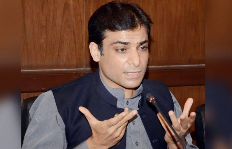 PML-N leader Hamza Shehbaz contracts coronavirus in jail