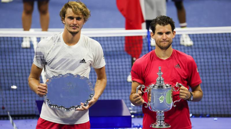 Thiem beats Zverev in thriller to win US Open for first Grand Slam title