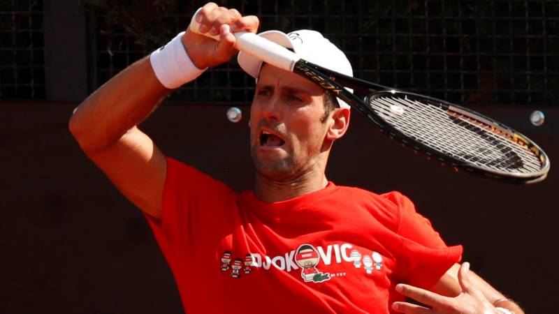 Djokovic eager to put US Open behind him in Rome