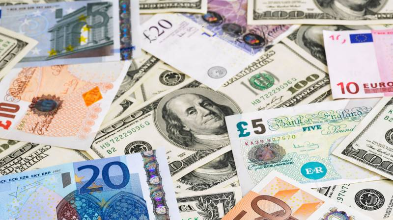 Dollar, pound, euro up in inter-bank trading