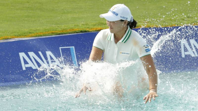South Korea's Lee Mi-rim wins ANA Inspiration in playoff