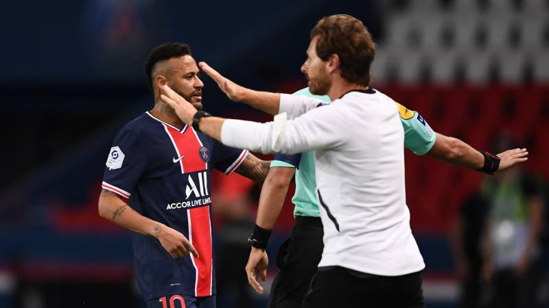Furious Neymar alleges racism as five sent off in PSG storm