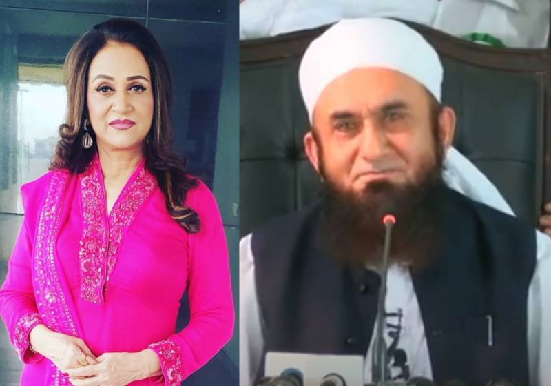 Bushra Ansari urges Maulana Tariq Jameel to protest rape incident