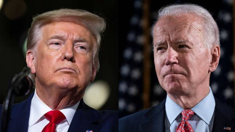 Biden slams Trump as 'climate arsonist'