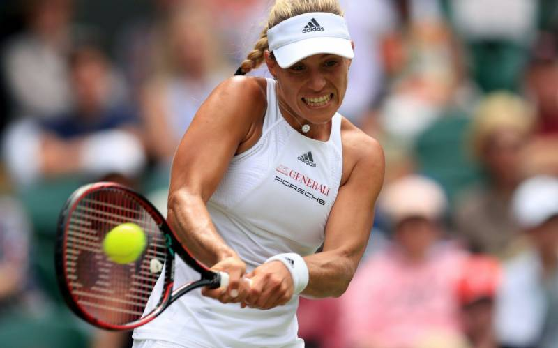 Kerber falls at first hurdle, Rublev advances in Rome