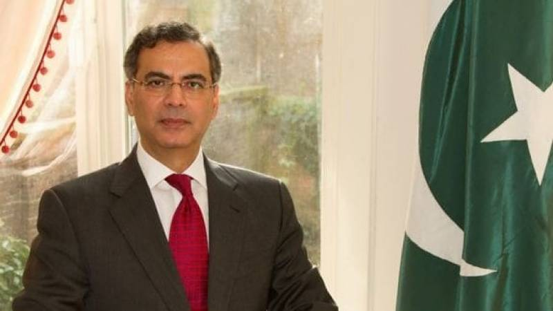 Moazzam assumes charge of high commissioner to UK