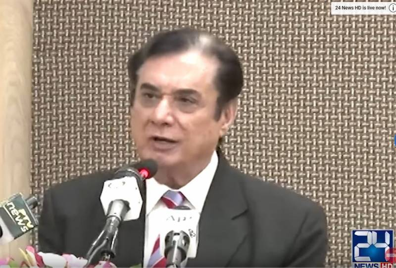NAB chief says critics of accountability drive are blindfolded